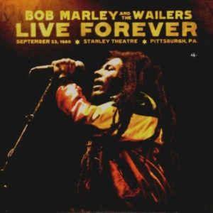 bob marley live forever 2 cd set & 3rd bonus cd